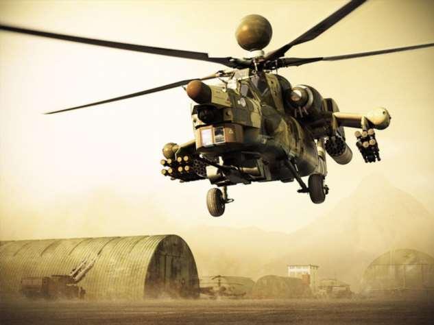 Стражи неба: 4 лучших боевых вертолёта с потрясающей мощью Интересное