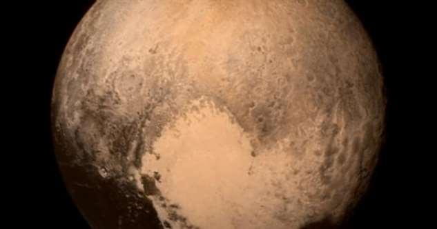Знаменитое «сердце» Плутона может быть источником уникального природного явления Интересное
