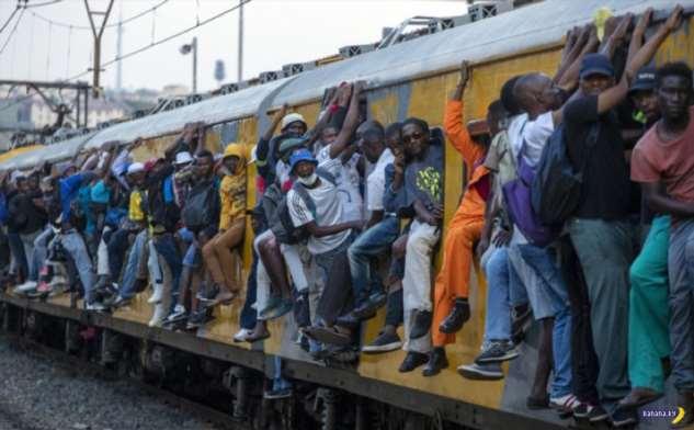 В Африке сейчас так!