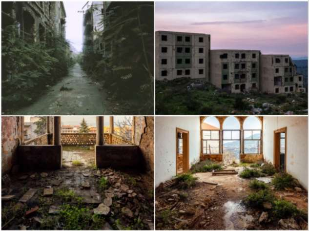 Заброшенные архитектурные шедевры Ливана глазами британского фотографа Интересное