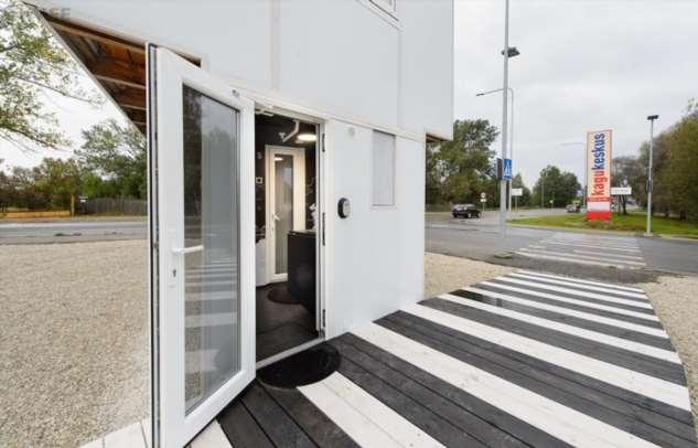Крохотный дом — это удобно: 11 фактов о самом маленьком отеле в Эстонии