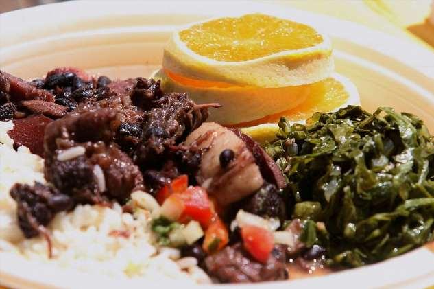 Вкуснейшие блюда бразильской кухни блюда, видами, собой, маниоки, мукой, различными, Шураско, специями, представляет, подают, гарнира, качестве, Buteco, многие, добавляется, Продукт, основе, треска, сушеная, Бакальяу