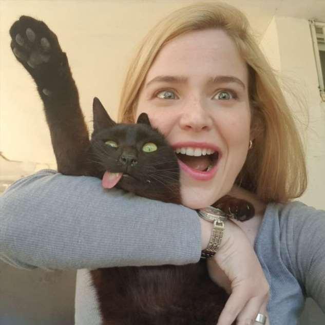 Зимес — кот, переживший жестокую атаку питбуля Марго, Зимес, навсегда, выпустил, бездомных, любит, кошек, убивать, Ример, чтобы, имени, которая, животным, несчастного, его»Это, огромное, обнимать, позволяет, характер, удивительный
