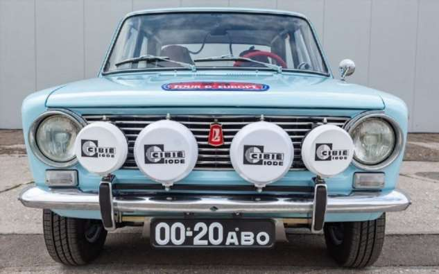 По случаю 50-летнего юбилея на АвтоВАЗе создали копию раллийной «копейки» 1971 года  Интересное