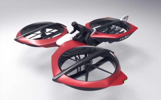 Как летающие мотоциклы помогут уменьшить пробки на дорогах  Интересное