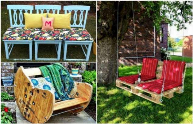 16 идей садовой мебели, которую не терпится смастерить для своей дачи