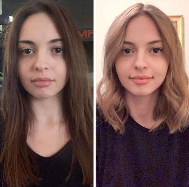 20 женщин, которые круто изменились благодаря одному эксперименту с волосами Интересное
