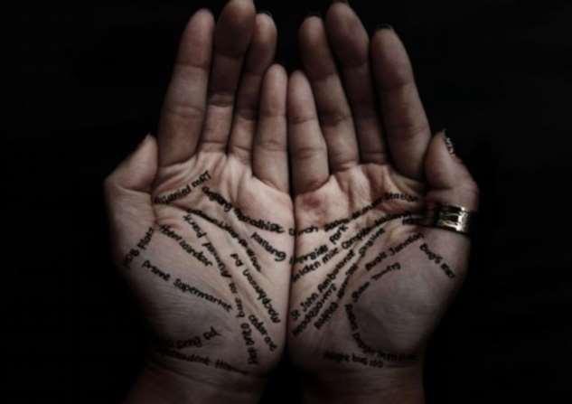 Почему нельзя толковать значения линий на собственных руках Интересное