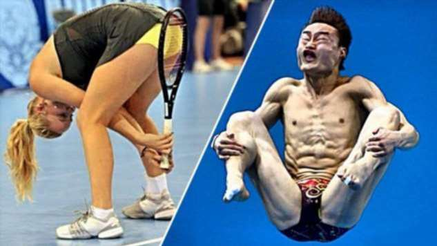 Неловкие моменты в спорте. Чертовская Подборка №10541108042020 юмор,демотиваторы,прикольные картинки,смешные фото