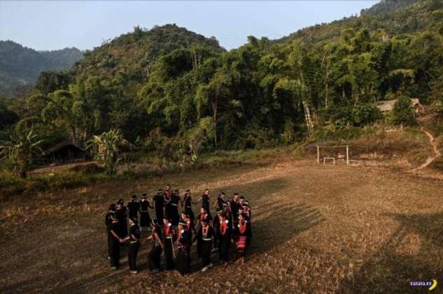 Деревенская жизнь в Мьянме Интересное
