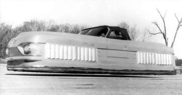 Тачка Люка Скайуокера — автомобиль на воздушной подушке!  Интересное