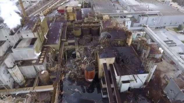 Фабрика по производству туалетной бумаги уничтожена огромным взрывом  Интересное