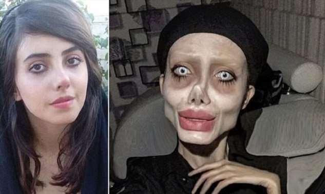 Зомби-двойник Анджелины Джоли умирает от коронавируса  Интересное