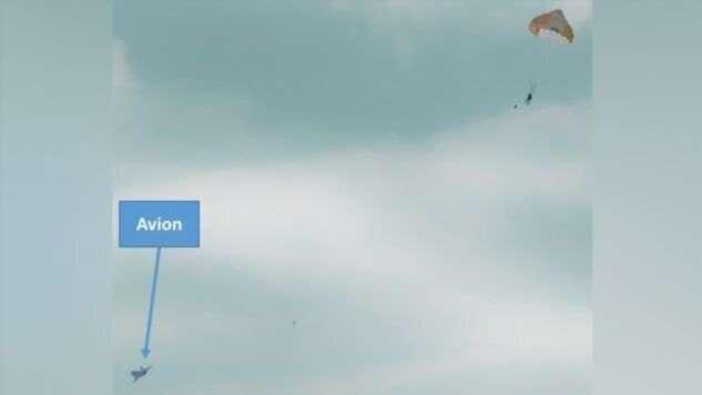64-летнему французу подарили полет в истребителе — дедушка катапультировался  Интересное