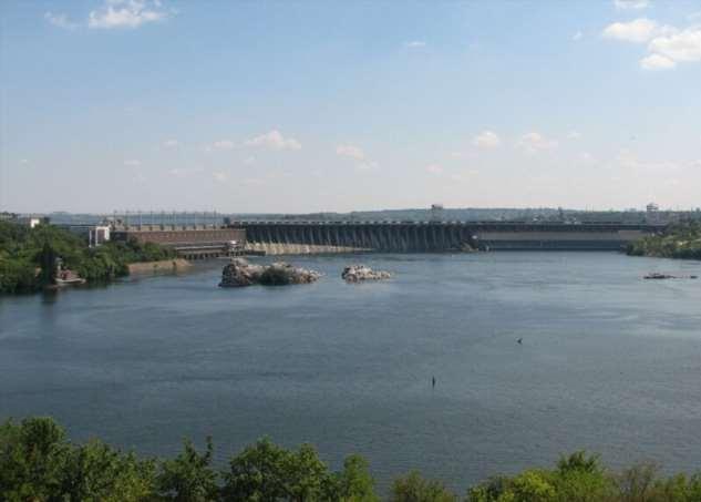 ДнепроГЭС — Днепровское ожерелье  Интересное