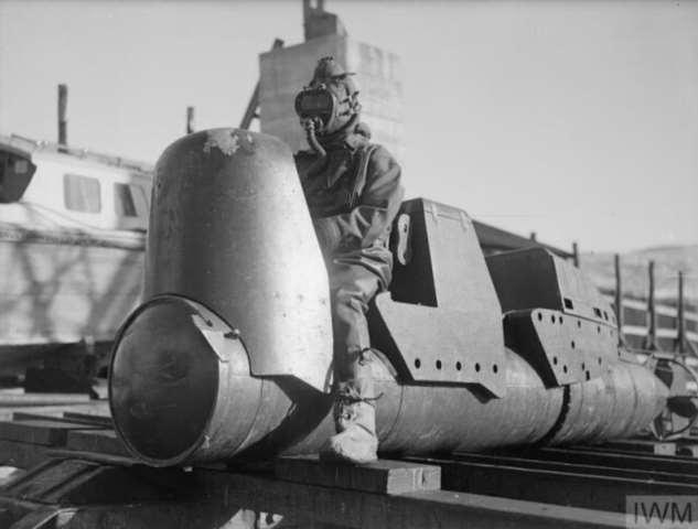 Человеко-торпеда: оружие для экстремалов  Интересное