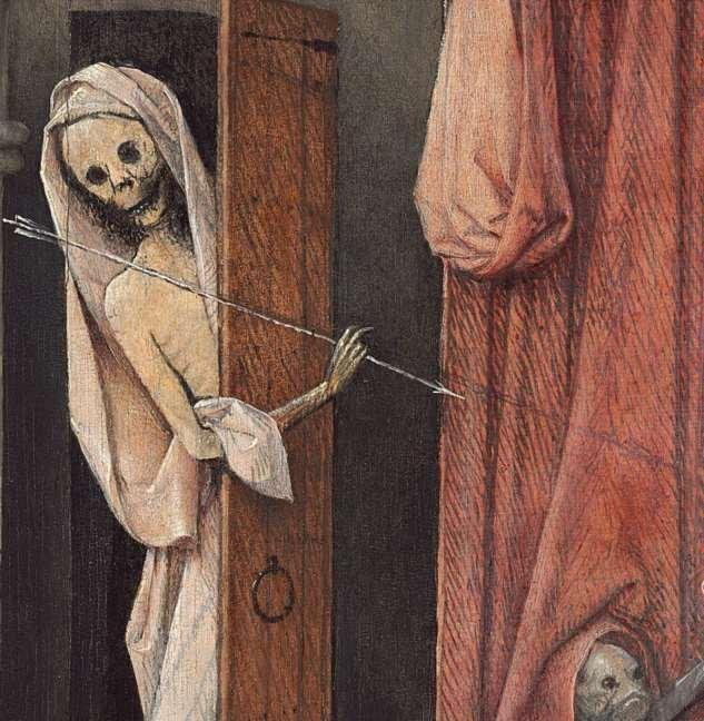 Смерть у Босха  Интересное