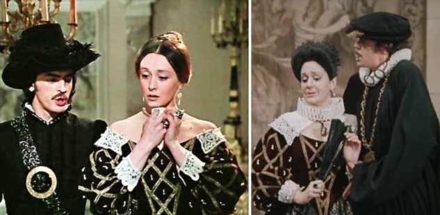 Одинаковый реквизит и костюмы из разных советских фильмов Интересное