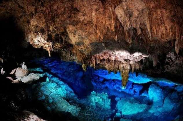 Подводные пещеры – фотограф Курт Боуэн  Интересное