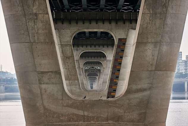«Сеульские мосты» – почти как оптические иллюзии  Интересное