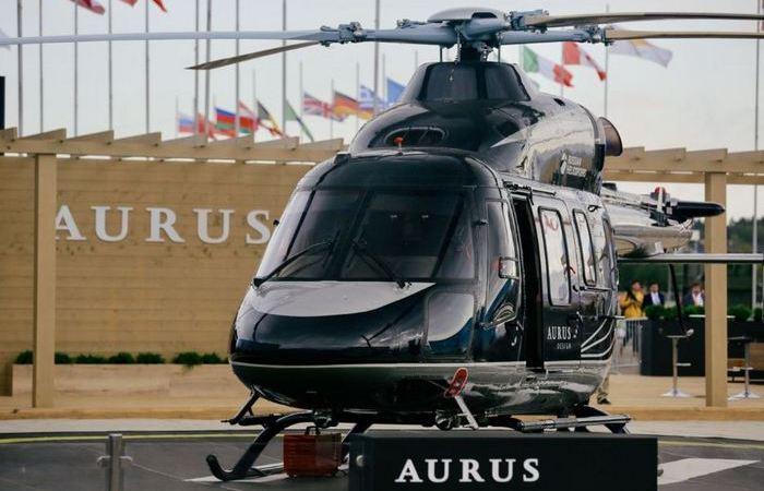 Лимузин с пропеллером: что известно о новом роскошном вертолете «Aurus» для перевозки VIP-персон