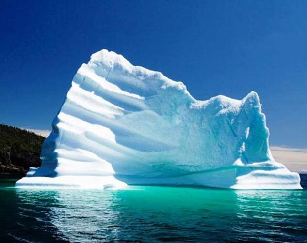 Удивительные айсберги и ледники со всего мира Интересное