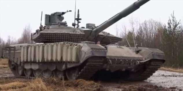 Российская армия получила новейшие танки Т-90М «Прорыв»  Интересное