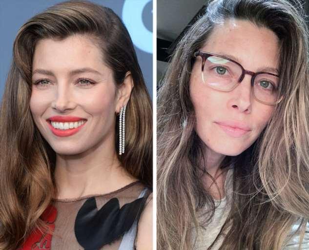 Мы сравнили, как выглядят знаменитости на красной дорожке и вдали от вспышек фотокамер Интересное