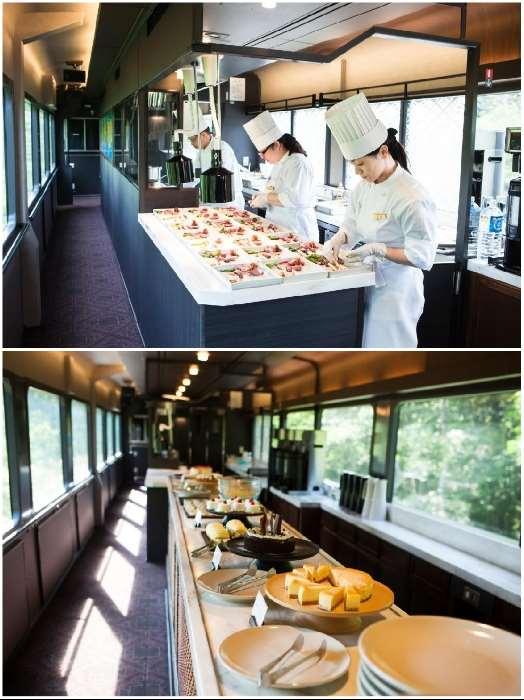 На что идут японские дизайнеры, чтобы привлечь туристов в экскурсионные поезда Интересное