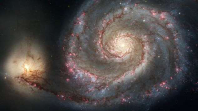 Почему некоторые галактики спиральной формы?  Интересное