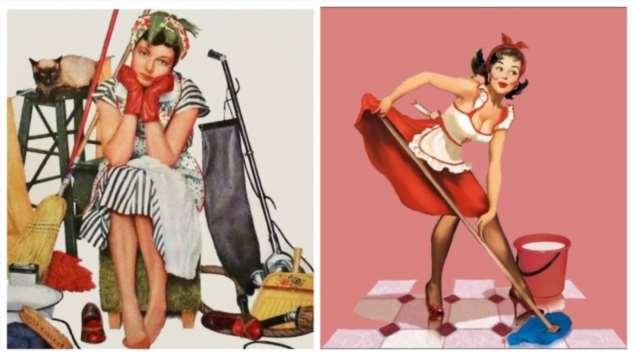 Те, кого называли «зинками», или Почему советские женщины мечтали устроиться домработницами Интересное