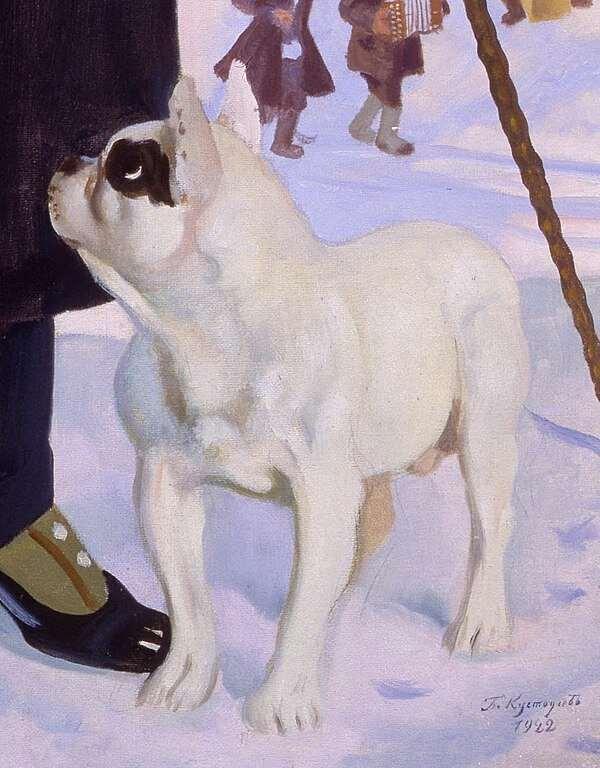 Собаки в живописи  Интересное