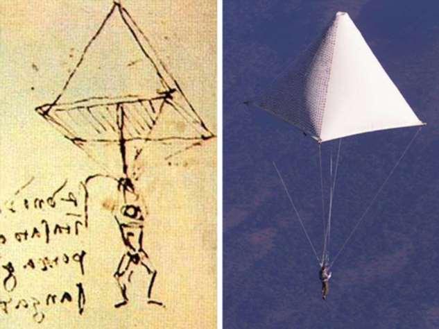 10 фактов о Леонардо да Винчи, чьи идеи опередили время на несколько столетий Интересное