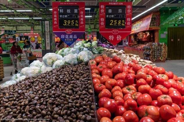 Китайский супермаркет  Интересное