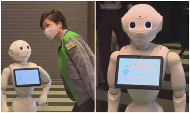 Отели с пациентами с COVID-19 в Токио оснащают роботами  Интересное