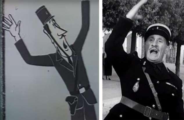 Брижит Бардо, Софи Лорен, Элизабет Тейлор в советском мультфильме  Интересное