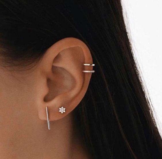 Потрясающий пирсинг на ушах, который выглядит не иначе как искусство