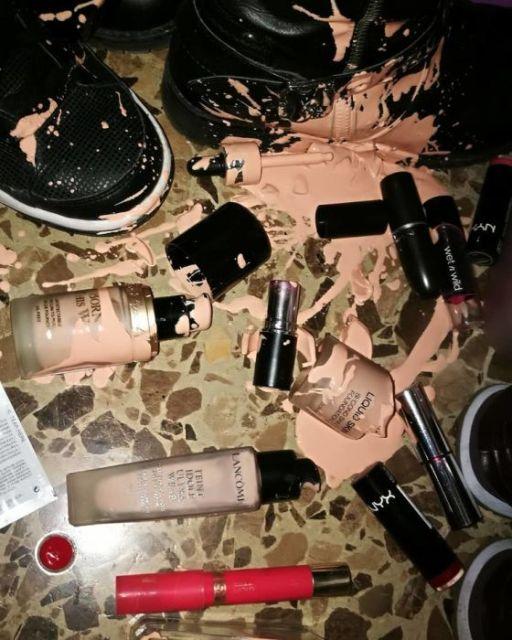 Фейлы с косметикой и макияжем
