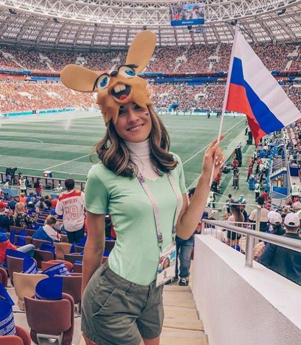 Очаровательные болельщицы ЧМ-2018