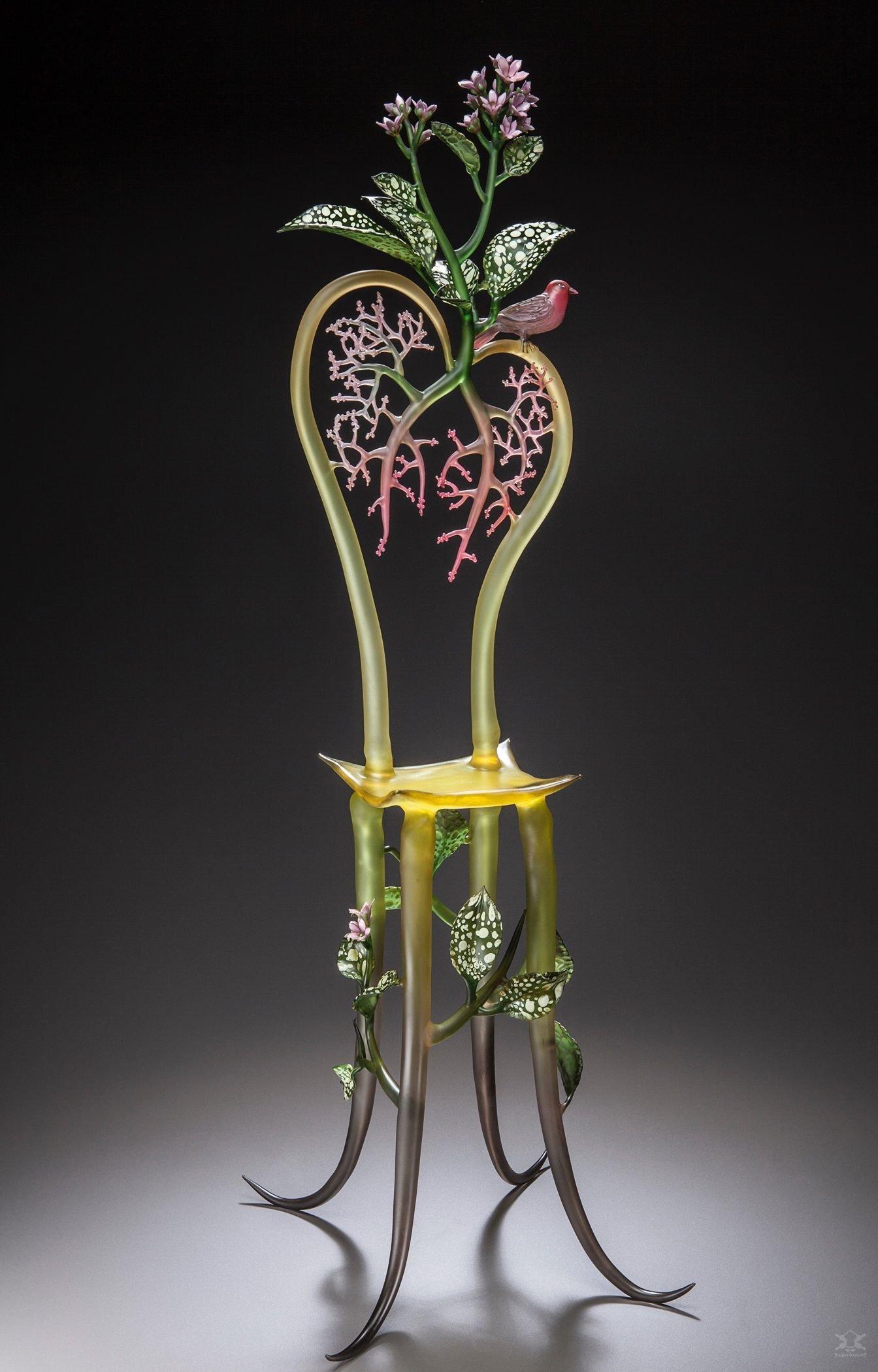 Невероятно сложные стеклянные скульптуры Дженис Милтенбергер